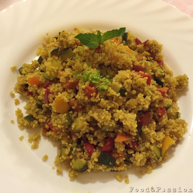 Couscous integrale alle verdure 2