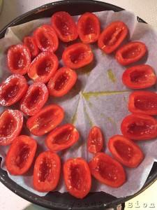 Preparazione Pomodorini gratinati al forno