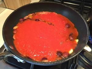 Preparazione | Vermicelli alle olive di Gaeta