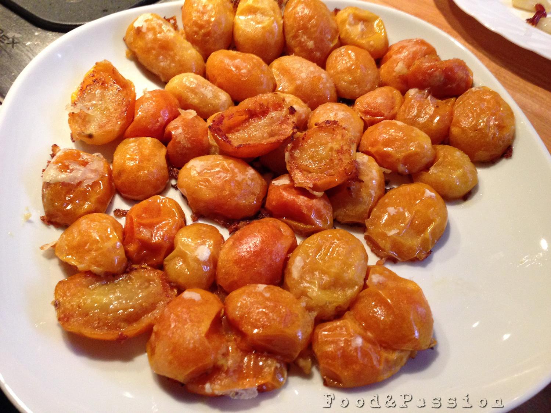 Pomodorini d'inverno piatto
