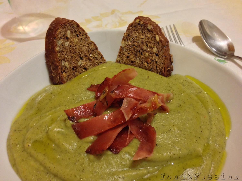 vellutata broccoli siciliani