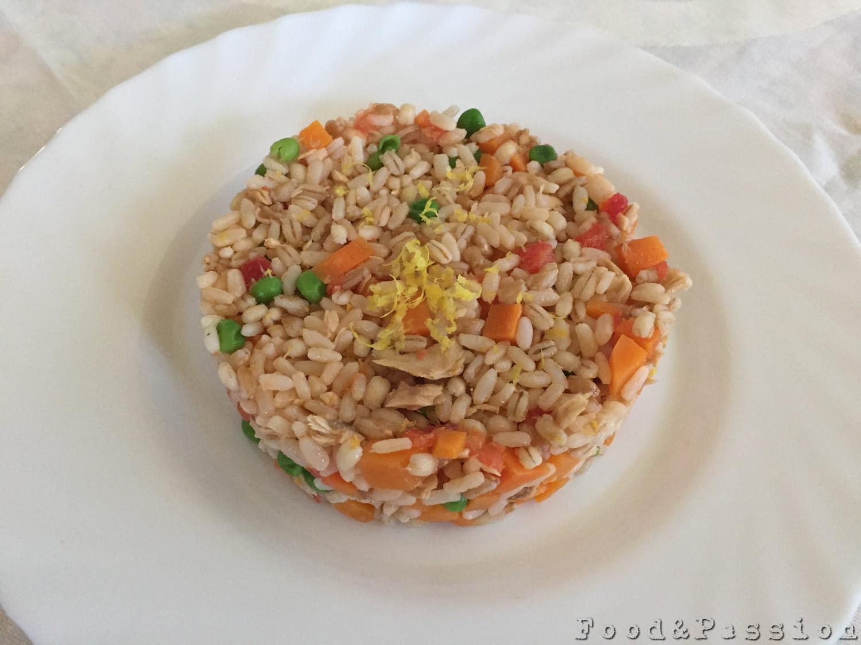 Insalata tre cereali