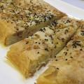 Torta rustica con cavolfiore e speck 7