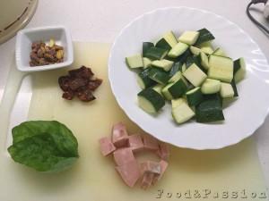 Preparazione | Vermicelli al pesto di zucchine e pistacchio