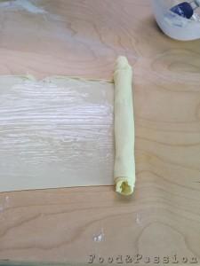 Preparazione Sfogliatelle ricce salate
